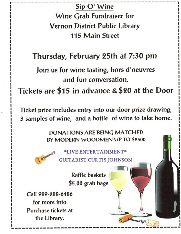 Sip O Wine Wine Grab Flyer